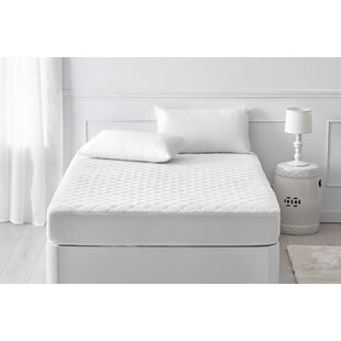 Reese Quilted Hypoallergenic Mattress Protector By Symple Stuff