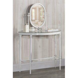 Baines Vanity with Mirror by Charlton Home