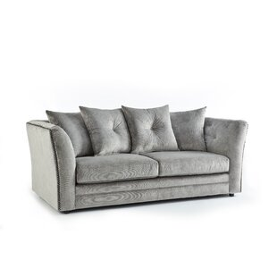 Lincoln 3 Seater Sofa By Rosdorf Park