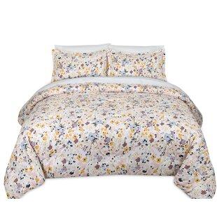 Andover Mills Crewe Spatter Cotton Reversible Comforter Set