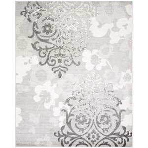 Norah Silver/Ivory Area Rug