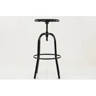 Corson Height Adjustable Swivel Bar Stool By Williston Forge