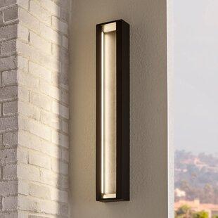 Feiss Mattix 6-Light LED Outdoor Flush Mount