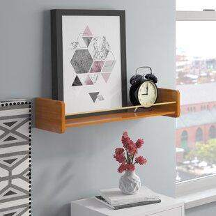 Zipcode Design Floating Shelf with Metal ..