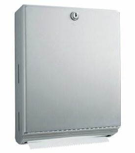 14 H x 10.75 W Surface-Mounted Paper Towel Dispenser by Bobrick