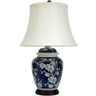 Reviews Cherry Blossom 22.5 Table Lamp By Oriental Furniture