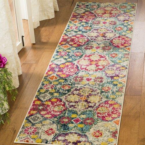 Teppich Nistler in Rot/Grün Bloomsbury Market Teppichgröße: 62 x 240 cm | Heimtextilien > Teppiche > Sonstige-Teppiche | Bloomsbury Market
