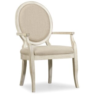 Sunset Point Upholstered Dining Arm Chair (Set of 2)