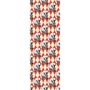 Animal Print Red Peel And Stick Wallpaper You Ll Love Wayfair