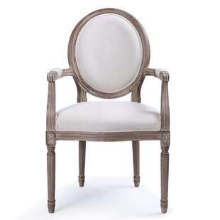 Agda Classic Elegant Upholstered Dining Chair