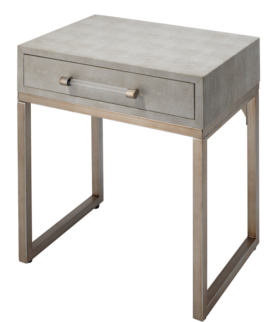 Wrought Studio Saunier Sled End Table With Storage Reviews Wayfair