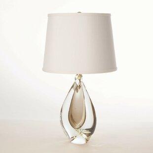 Mini Amber Twist 21.5 Table Lamp