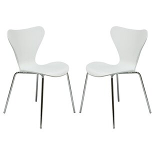 Burghfield Stacking Patio Dining Chair (Set of 2)