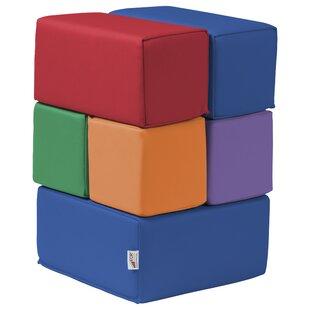 SoftZone® 7 Piece Toddler Block Set By ECR4kids