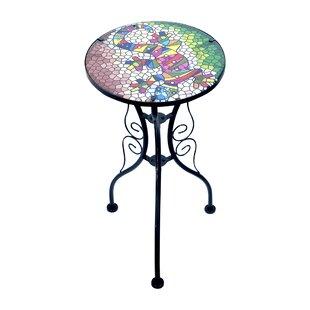 Kirkby Metal Bistro Table By Bloomsbury Market