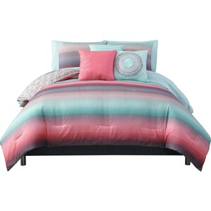 mesilla 10 piece reversible bed in a bag set