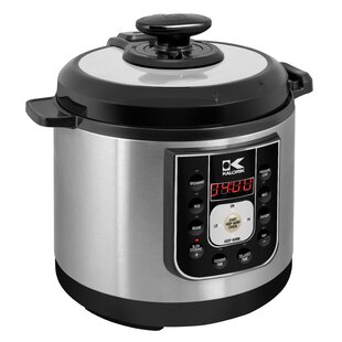 6.25 Qt. Stainless Steel Perfect Sear Pressure Cooker