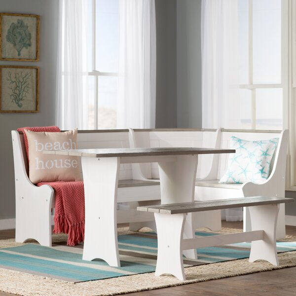 Perfect Beachcrest Home Monroe 3 Piece Nook Dining Set U0026 Reviews | Wayfair