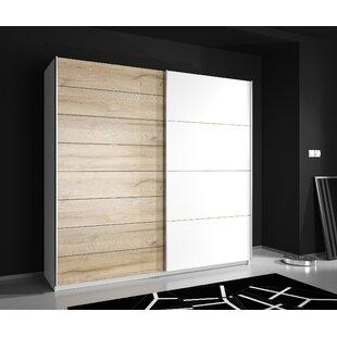 Absher 2 Door Sliding Wardrobe By Ebern Designs
