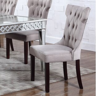 Upholstered Dining Chair (Set of 2) BestMasterFurniture