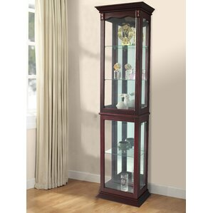 Watkin Floor Standing Lighted Curio Ca..