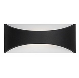 Zack 1-Light Outdoor Sconce by Radionic Hi Tech