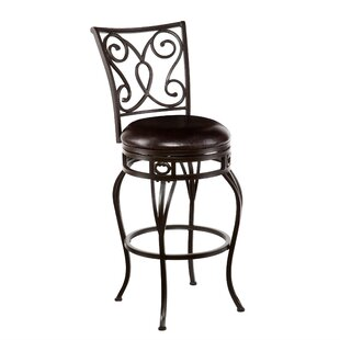 Fernville 29.75 Swivel Bar Stool DarHome Co