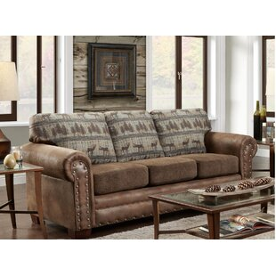 Teal Deer Lodge Sleeper Sofa by American Furniture Classics Today Sale Only
