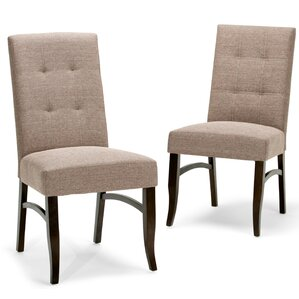 Ezra Deluxe Parsons Chair (Set of 2) b..