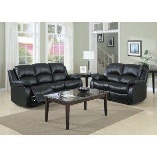 Latitude Run Iris Reclining Configurable Living Room Set
