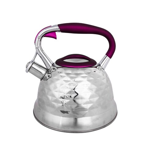 Mccraney 3L Stainless Steel Whistling Stovetop Kettle