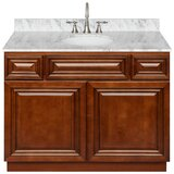 Kingsbridge 43 Single Bathroom Vanity Set by Charlton Home