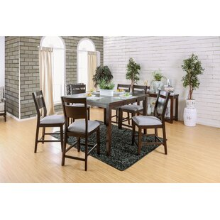 Farrington Gurney 7 Piece Counter Height Extendable Dining Set Brayden Studio