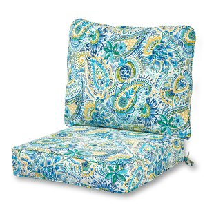 Indoor/Outdoor Lounge Chair Seat And Back Cushion