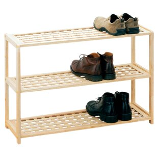 3 Tier Shoe Rack By Symple Stuff