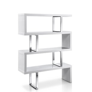 Everly Quinn Lorne Geometric Bookcase