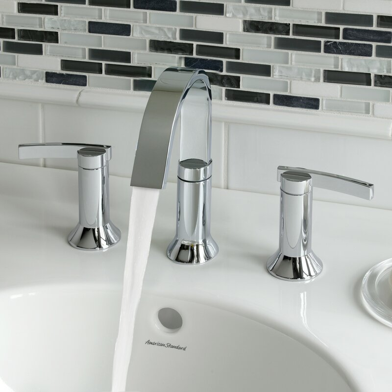 American Standard Berwick High Arc Widespread Bathroom Faucet With
