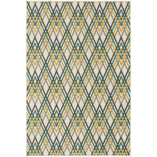 Azar Ivory Indoor/Outdoor Area Rug