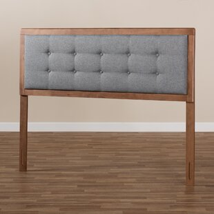 High Upholstered Panel Headboard