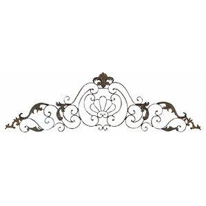 Black Wrought Iron Wall Decor metal wall art - wall décor | wayfair