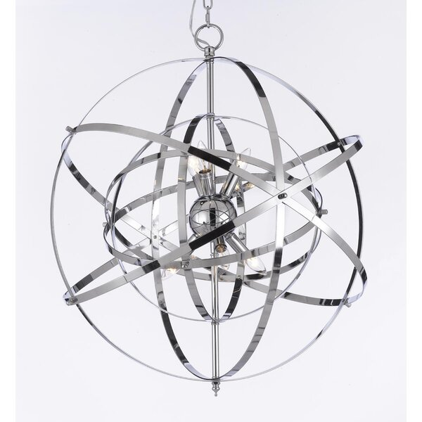 Outdoor Orb Chandelier Wayfair