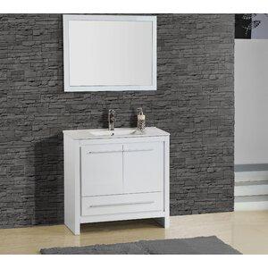 Alexa 30″ Single Vanity with Mirror