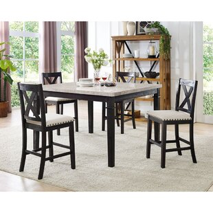 Alcott Hill Hager 5 Piece Dining Set