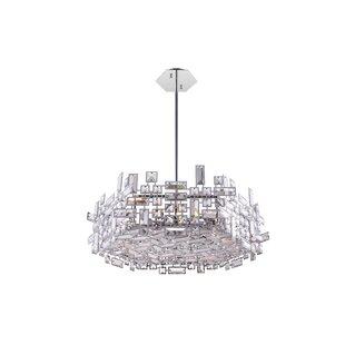 CWI Lighting Arley 12-Light LED Crystal Chandelier