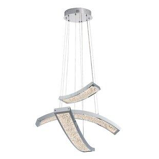 Scull 3-Light Pendant by Orren Ellis