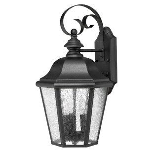 Bargain Edgewater 3-Light Outdoor Wall Lantern By Hinkley Lighting
