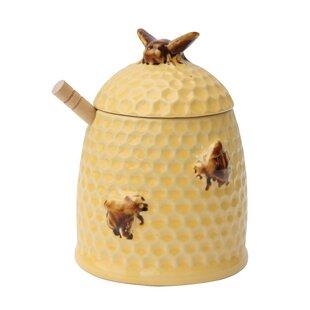 Stoneware Honey Storage Jar