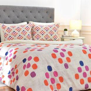 East Urban Home Diamond Weave Duvet Cover Set