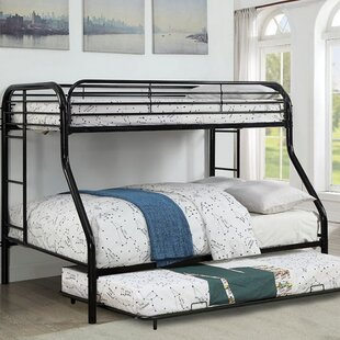 Alderete Twin Over Twin Bunk Bed With Trundle by Harriet Bee Cheap