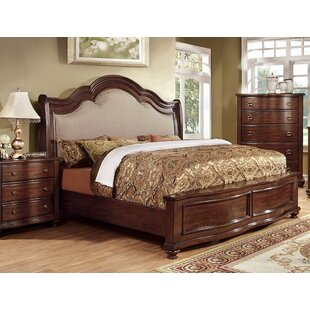 Astoria Grand Ablana Upholstered Panel Bed